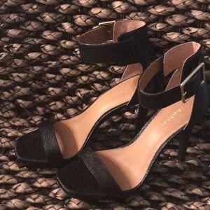Calvin Klein Ankle Strap Ptatform heels